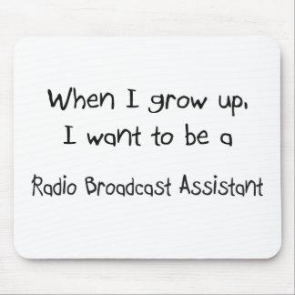 Cuando me crezco quiera ser una emisión de radio A Alfombrilla De Raton