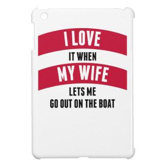 Cuando mi esposa me deja salir en el barco