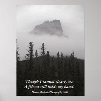Cuando niebla Rolls adentro Posters