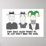Cuando poster de la vuelta 40 de Amish