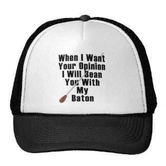 Cuando quiero su opinión… gorras de camionero