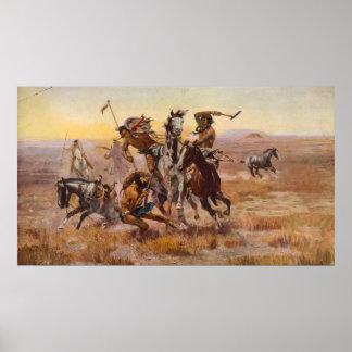 Cuando Siux y los Blackfeet se encontraron por Cha Poster