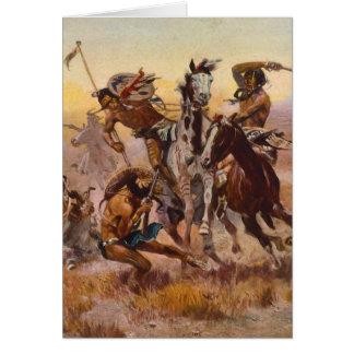 Cuando Siux y los Blackfeet se encontraron por Cha Tarjeta