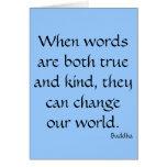 Cuando son las palabras verdad y clase… tarjetas
