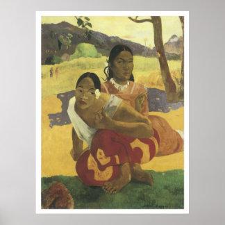 ¿Cuándo usted se casará? 1892, Paul Gauguin Poster