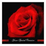 Cuando usted sonríe/la Su-Ocasión del rosa rojo in Invitacion Personalizada