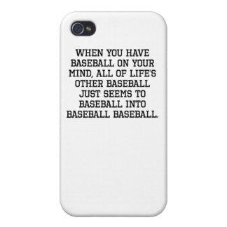 Cuando usted tiene softball en su mente
