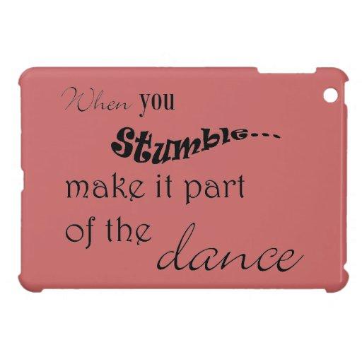 Cuando usted tropiezo le hace la parte de la danza