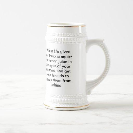 cuando vida taza de café