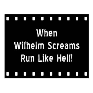 Cuando Wilhelm grita Postal