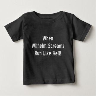 Cuando Wilhelm grita Remeras