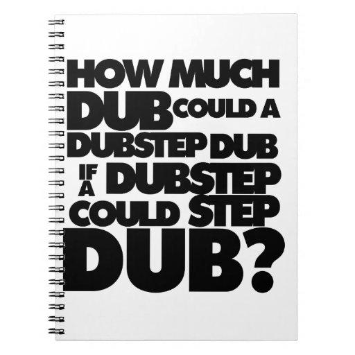 ¿Cuánto Dubstep? Libro De Apuntes Con Espiral
