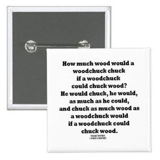 Cuánto madera un tornado de la tirada de la marmot pin