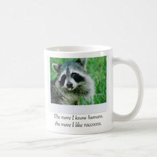 Cuanto más que conozco a seres humanos, tengo gust tazas de café
