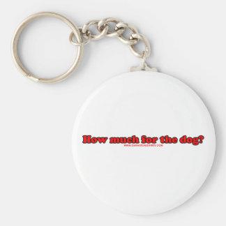 ¿Cuánto para el perro? Llavero Redondo Tipo Pin