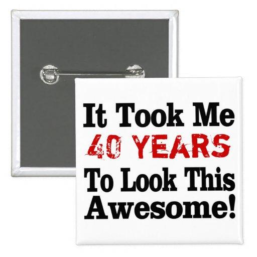 Cuántos años a impresionante pin