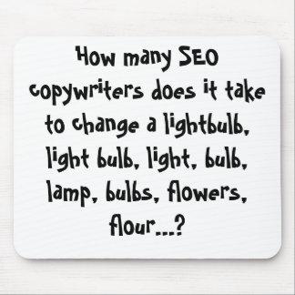 Cuántos copywriters de SEO lo hace para llevar… Alfombrillas De Ratones