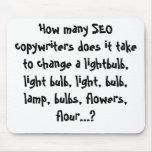Cuántos copywriters de SEO lo hace para llevar… Tapete De Raton