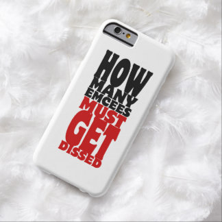 Cuántos Emcees deben conseguir Dissed Funda Para iPhone 6 Barely There