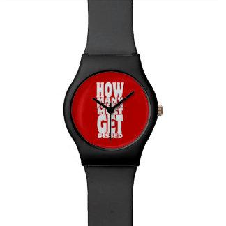 Cuántos Emcees deben conseguir Dissed Reloj