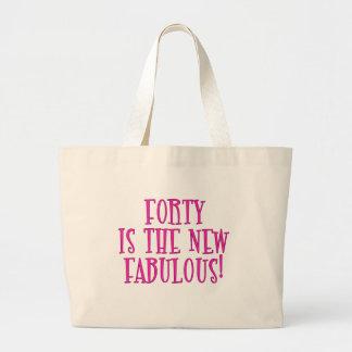 Cuarenta es los nuevos productos fabulosos bolsa de mano
