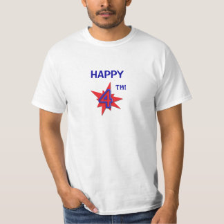 Cuarta camiseta feliz polera