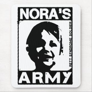 Cuarteles del ratón del ejército de Nora Alfombrilla De Ratón