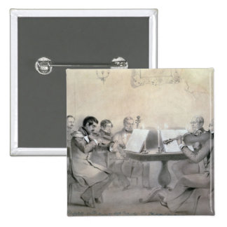 Cuarteto de la cuenta A.F. Lvov, 1840 del composit Pin Cuadrado