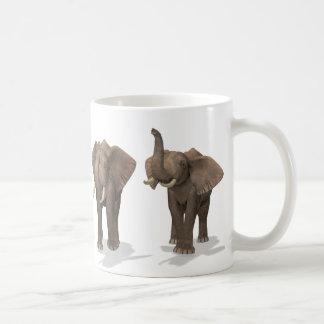Cuarteto de los elefantes taza