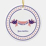 Cuarto 4to de las palomas de julio con el ornament adornos