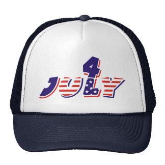 Cuarto 4to de los gorras de julio