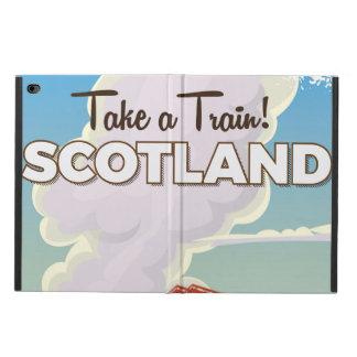 Cuarto cartel del viaje del puente de Escocia
