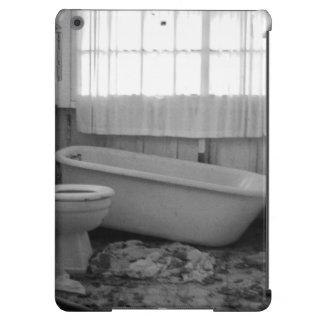 Cuarto de baño abandonado funda para iPad air