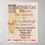 Cuarto de baño---Asiéntese por favor Impresiones