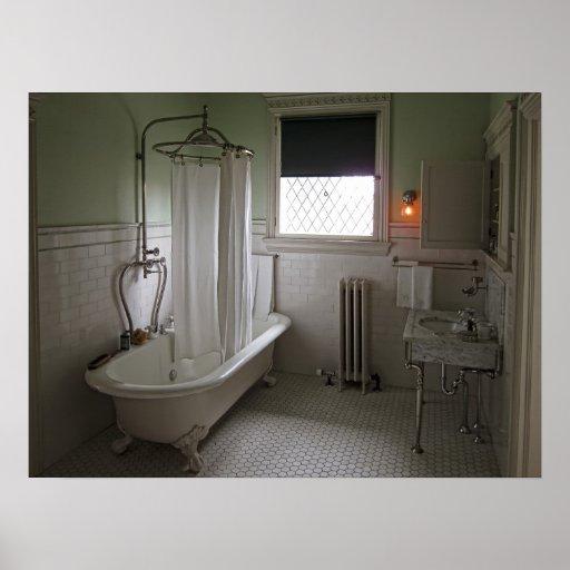 Cuarto de baño de la casa de Campbell del Póster