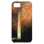 Cuarto de julio, exhibición del fuego artificial,  iPhone 5 Case-Mate carcasa