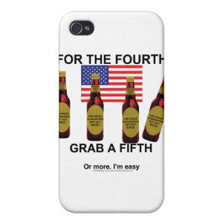Cuarto de julio iPhone 4/4S fundas