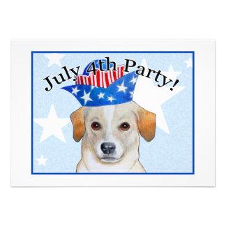 Cuarto de las invitaciones de julio invitacion personalizada