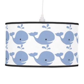 Cuarto de niños de la ballena del bebé lámpara de techo