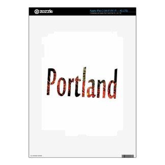 Cuarto de Portland de julio Pegatina Skin Para iPad 3