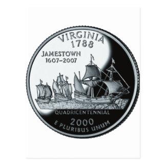 Cuarto de Virginia Postal