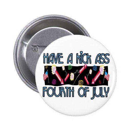 Cuarto del asno del retroceso de julio pin