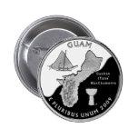 Cuarto del estado de Guam Pin