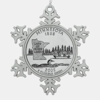 Cuarto del estado de Minnesota Adornos
