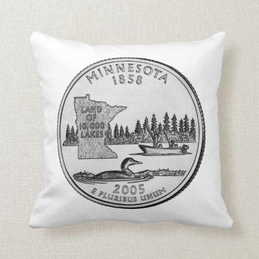 Cuarto del estado de Minnesota Cojines
