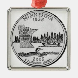 Cuarto del estado de Minnesota Adorno Para Reyes