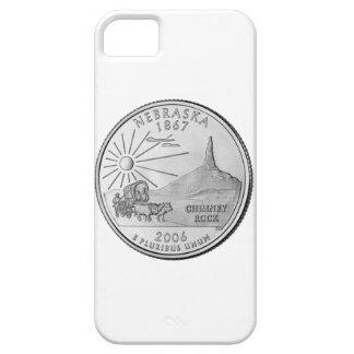 Cuarto del estado de Nebraska iPhone 5 Case-Mate Protectores
