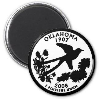 Cuarto del estado de Oklahoma Iman De Frigorífico