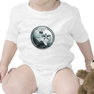 Cuarto del estado de Tejas Trajes De Bebé