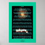 Cuarto del poster de la poesía de julio
